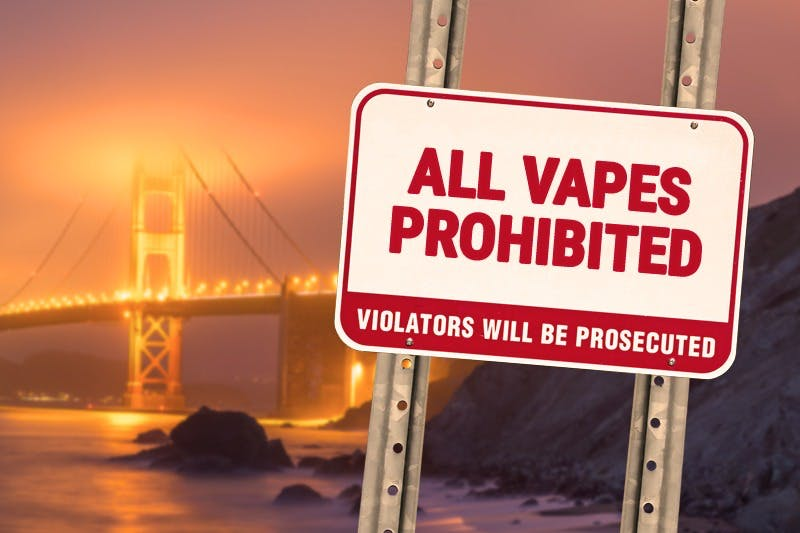 San Francisco Proposes Complete Prohibition of All Vape Sales